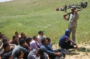 برگزاری اردوی عملی دوره تکمیلی بسیج 6 شهرستان فارس در شیراز