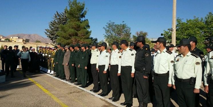 برگزاری صبحگاه مشترک نیروهای مسلح در اقلید