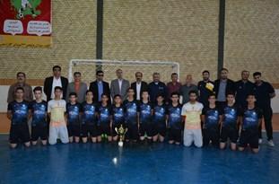 تیم غدیر اقلید قهرمان رقابتهای فوتسال نوجوانان فارس شد