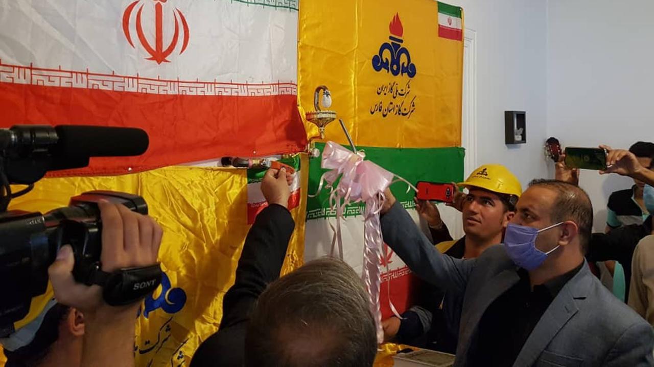 طرح گازرسانی به روستای شویدزار در اقلید فارس