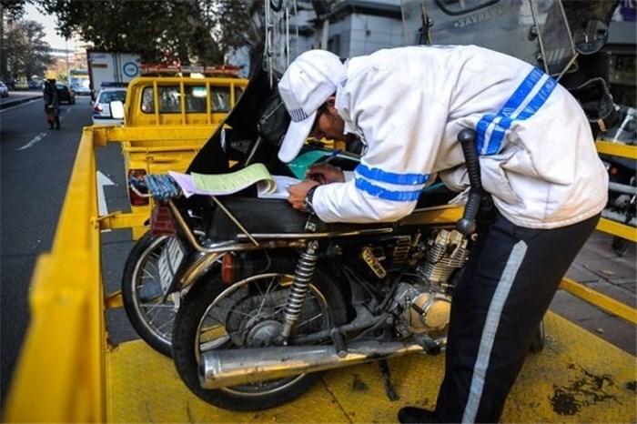 اجرای طرح ارتقا امنیت اجتماعی و توقیف ۵۷ دستگاه موتورسیکلت متخلف