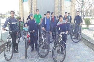 برگزاری همایش بزرگ دوچرخهسواری در اقلید