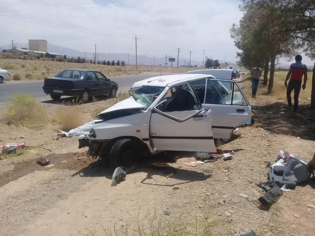 یک کشته در جاده اقلید - سورمق