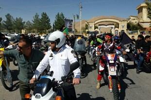 برگزاری همایش بزرگ «موتورسواران ایمن، موتورسواران عاشورایی» در اقلید