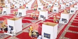 توزیع ۱۱۴ بسته معیشتی بین نیازمندان در روزهای آخر ماه صفر توسط کانون مسجد «بیت العباس (ع)» اقلید