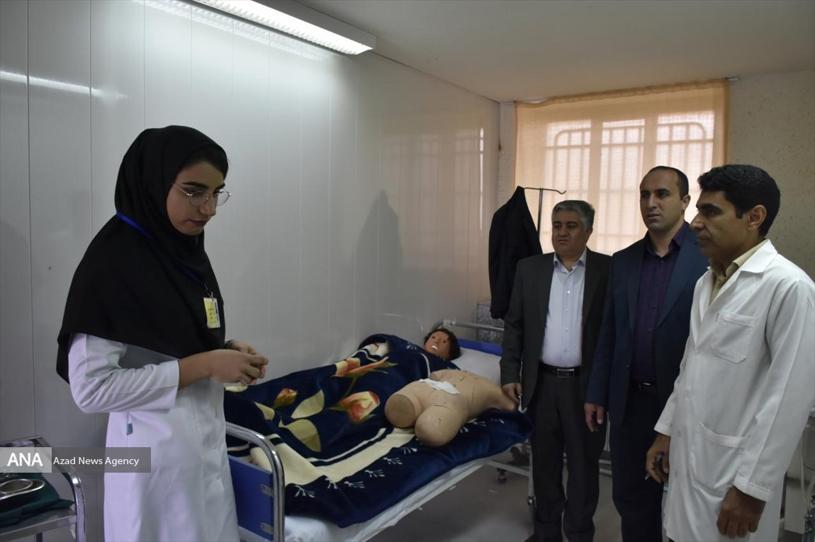 تکمیل تجهیزات مورد نیاز اتاق پراتیک پرستاری دانشگاه آزاد اسلامی اقلید