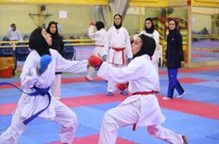 بانوان شیرازی قهرمان مسابقات کاراته فارس شدند