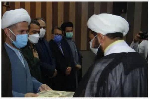 آئین تودیع و معارفه مسئول دفتر نمایندگی ولی فقیه در سپاه ناحیه اقلید برگزار شد