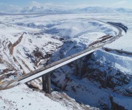 نامگذاری مرتفعترین پل آزادراهی ایران به نام سردار ملی