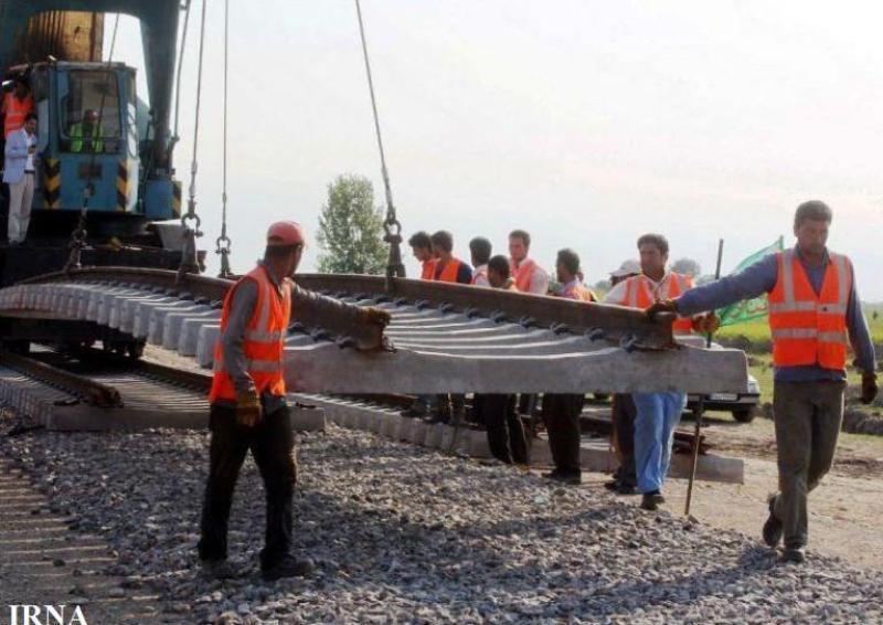 احداث راه آهن اقلید - یزد 92 درصد پیشرفت فیزیكی دارد
