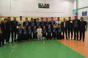 تیم فوتسال نوجوانان غدیر اقلید بر سکوی سوم مسابقات لیگ برتر کشور قرار گرفت