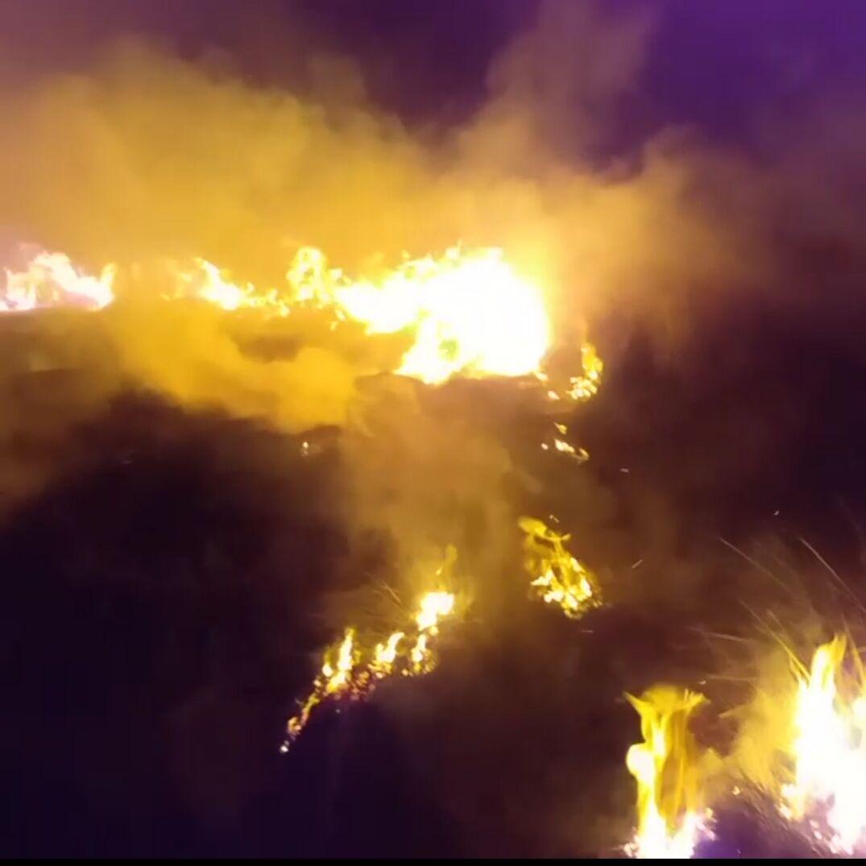 آتشسوزی آسپاس اقلید فارس مهار شد