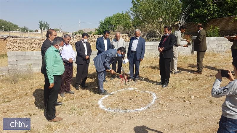 آغاز ساخت یک بومگردی در روستای هدف گردشگری آسپاس اقلید