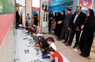 مسابقه نقاشی با هدف آموزش برقراری ارتباط سالم در خانواده به فرزندان