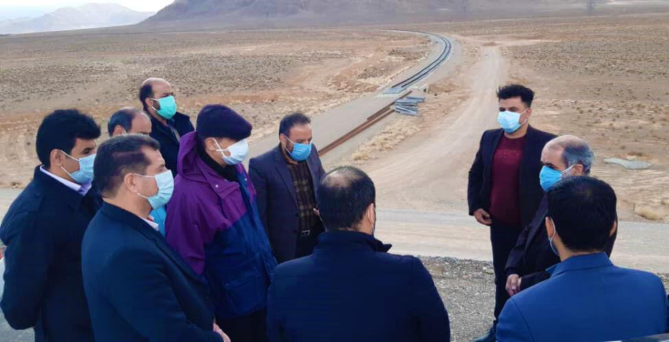 پیشرفت خط ریلی یزد - اقلید ۸۲ درصد اعلام شد