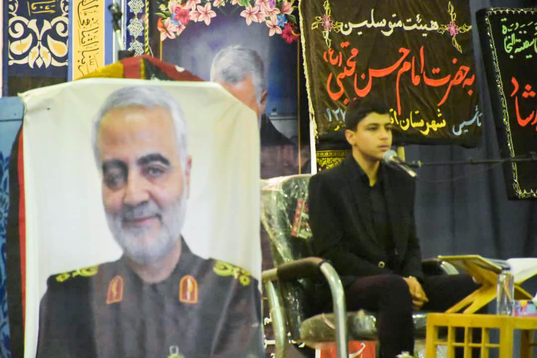مراسم بزرگداشت سردارشهید سلیمانی در اقلید برگزارشد+تصاویر