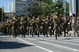 نیروهای مسلح در شهرستان اقلید اقتدار خود را به نمایش گذاشتند