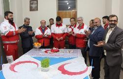 بازدید مدیرعامل جمعیت هلال احمر فارس از طرحهای نوروزی استان و تقدیر از فعالان در طرح های نوروزی