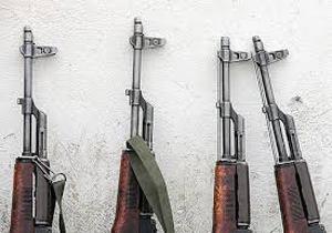 کشف اسلحه توسط نیروهای یگان حفاظت محیط زیست در فارس
