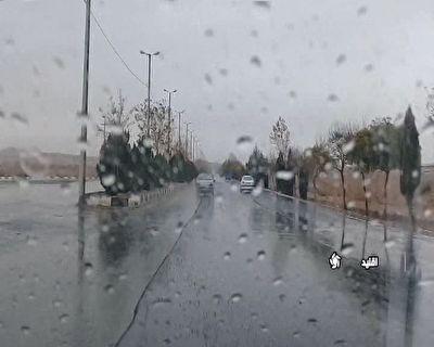 لطافت هوا با باران پاییزی در اقلید