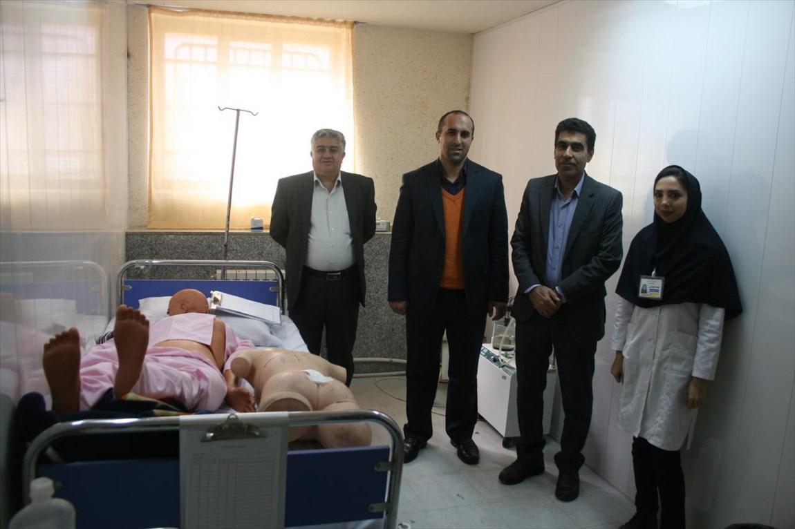 برگزاری آزمون عملی مهارتهای پایه پرستاری در دانشگاه آزاد اسلامی اقلید