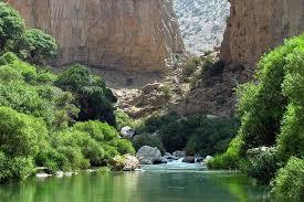 تنگه براق اقلید در استان فارس منظرهای فوق العاده از طبیعتی زیبا