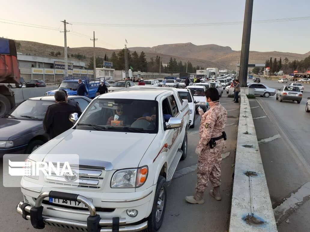 خودروهای بی توجه به طرح محدودیت تردد در فارس، جریمه و توقیف میشوند