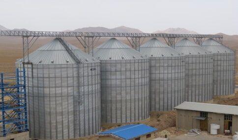 ظرفیت سیلوهای گندم فارس در هفت سال ۲۲۲ هزار تن افزایش یافت