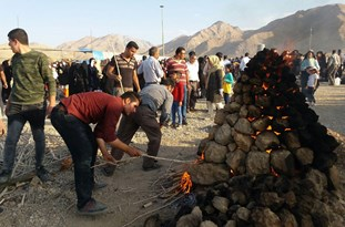 برگزاری دومین جشنواره ملی کلوخپز در اقلید فارس