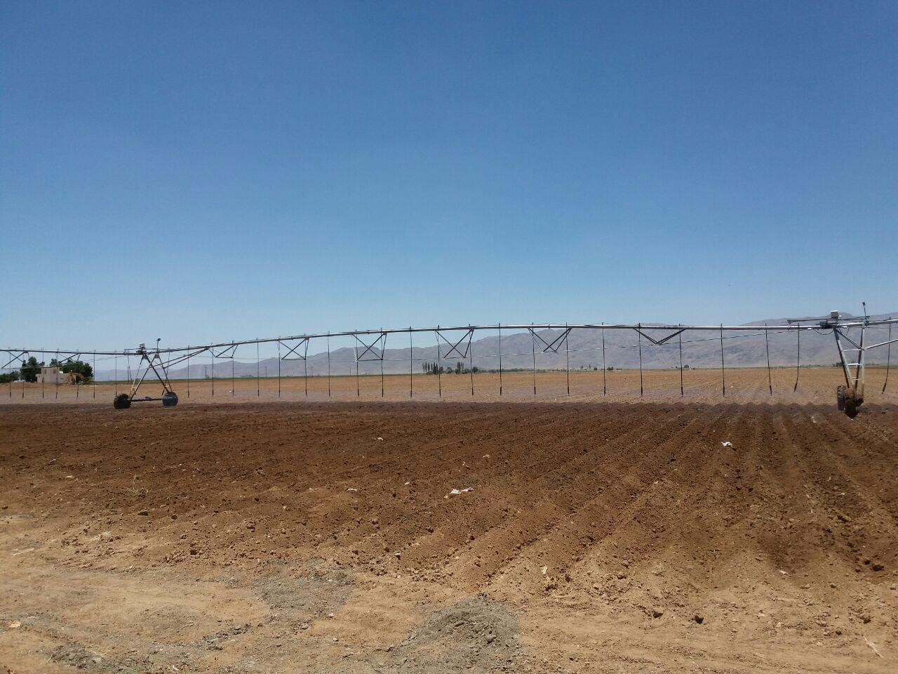 افتتاح طرح آبیاری تحت فشار در شهرستان اقلید