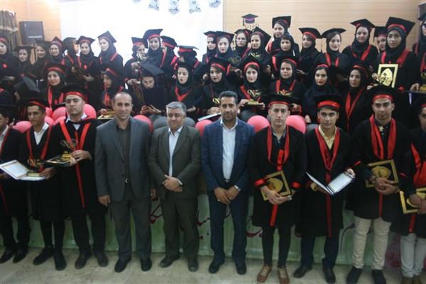 جشن دانشآموختگی دانشجویان پرستاری دانشگاه آزاداسلامی اقلید برگزار شد