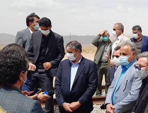 وزیر راه و شهرسازی: راهآهن اقلید - یزد خردادماه ۱۴۰۰ افتتاح میشود