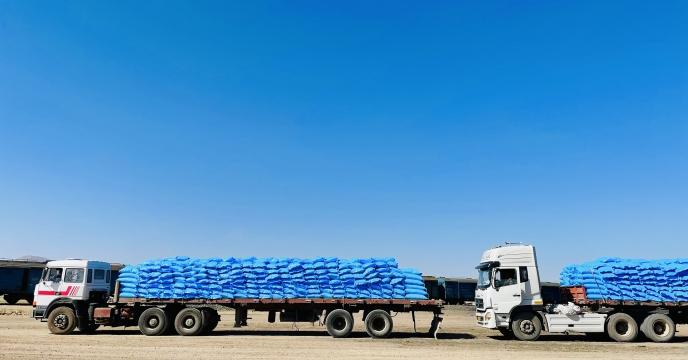 تأمین و ارسال کود شیمیایی به مقصد انبار کارگزاران شهرستان اقلید