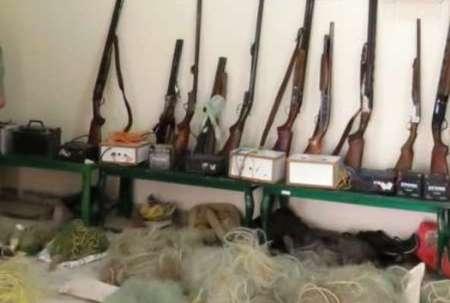 56 شکارچی غیرمجاز خردادماه امسال در فارس دستگیر شدند